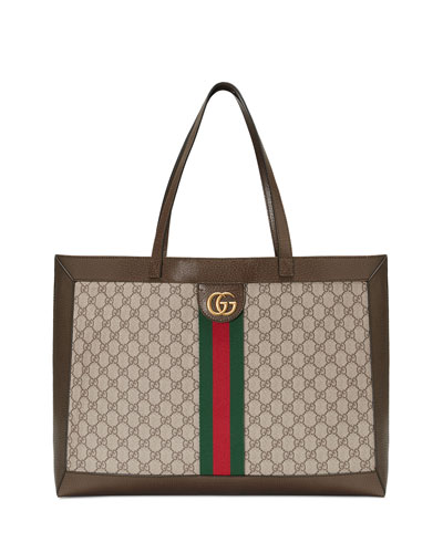 e5adcbd8ff03 Quick Look. Gucci · Ophidia Soft GG Supreme Canvas Tote Bag with Web