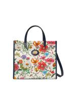 Gucci Flora Small Canvas Tote Bag
