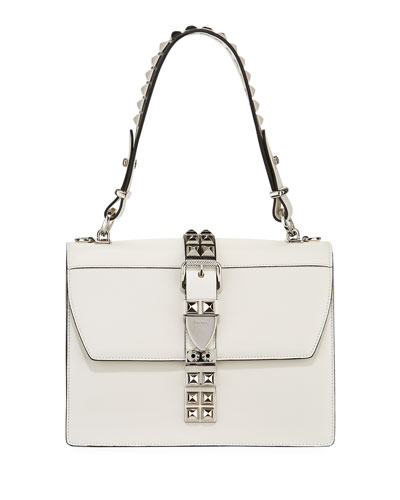 Elektra Top Handle Front-Flap Bag w/ Removable Crossbody Strap