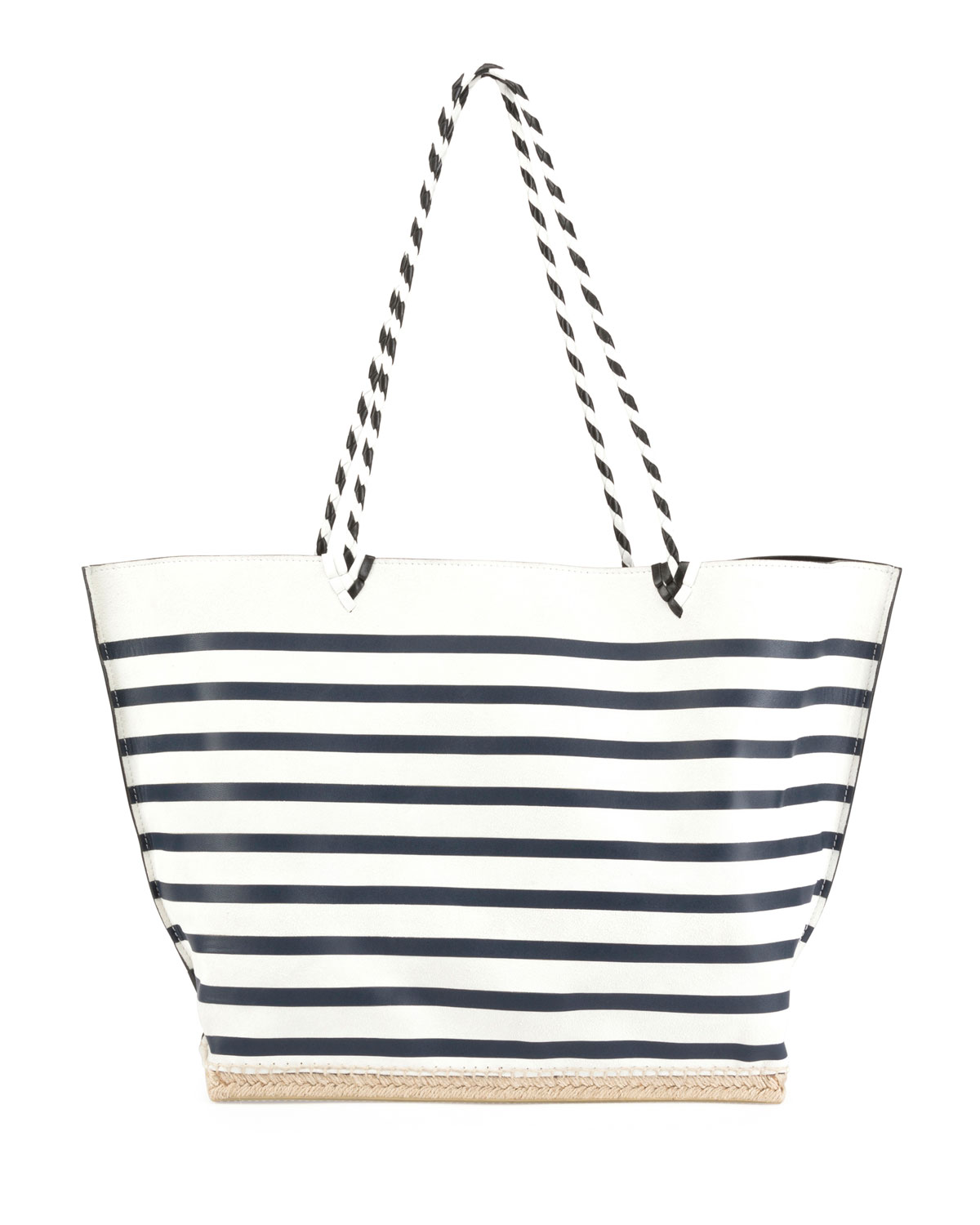 ESPADRILLE LARGE STRIPED TOTE BAG from Neiman Marcus