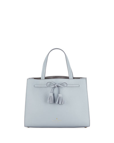 hayes street small leather tote bag