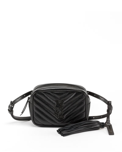 d2256399840 Quick Look. Saint Laurent · Lou Monogram YSL Quilted Leather Belt Bag ...