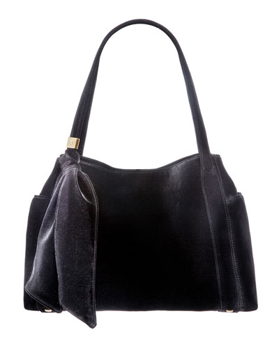 Velvi Framed Top Shoulder Bag