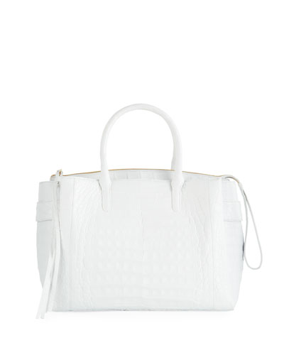 Cristie Medium Crocodile Tote Bag