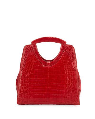 Quick Look. Nancy Gonzalez · Small Keyhole Crocodile Top-Handle Bag 41cdf967461e7