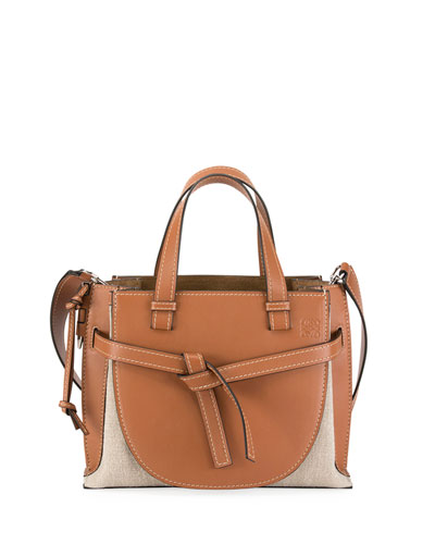 1deaa2a05610 Quick Look. Loewe · Gate Small Leather Top-Handle Tote Bag