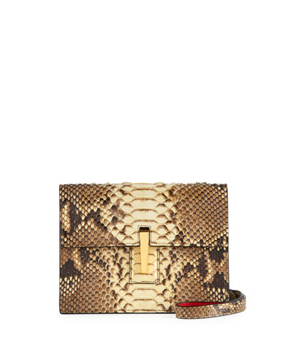 Python Mini Soft Shoulder Bag