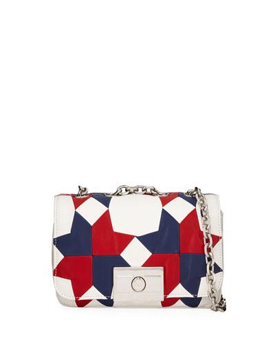 Billie Small Calf Leather Shoulder Bag