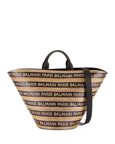 Panier Plage Raphia Tote Bag