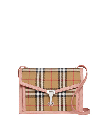 Macken Small Vintage Check Crossbody Bag