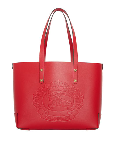 6fae5aef4fa6 Quick Look. Burberry · Small Leather Shoulder Tote Bag with Crest
