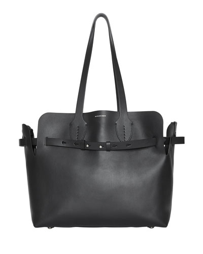 Medium Soft Leather Tote Bag