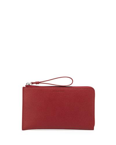 Nolan Leather Zip Wallet
