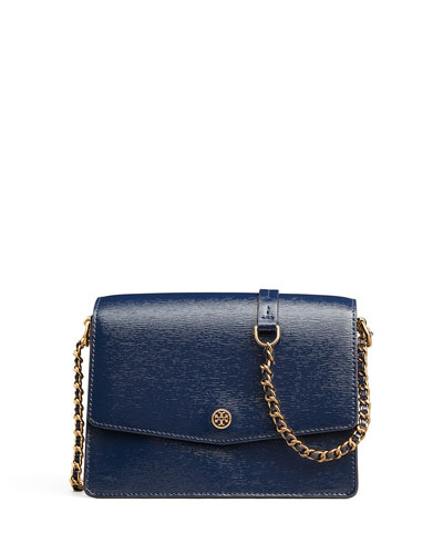Robinson Convertible Shiny Shoulder Bag