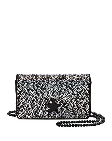 Stella McCartney Mini Stella Star Rhinestone Shoulder Bag