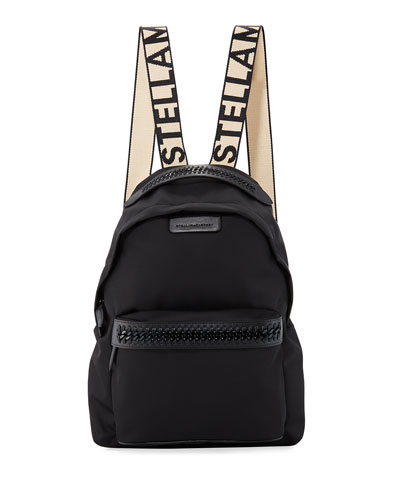 Logo-Web Nylon Backpack