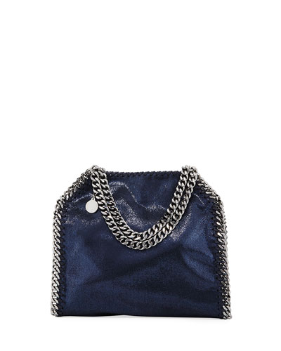 617495ea5f Quick Look. Stella McCartney · Mini Falabella Metallic Chain Tote Bag