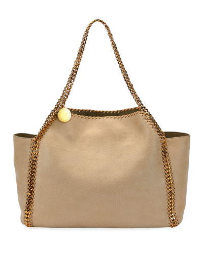 Falabella Medium Reversible Shaggy Deer Tote Bag