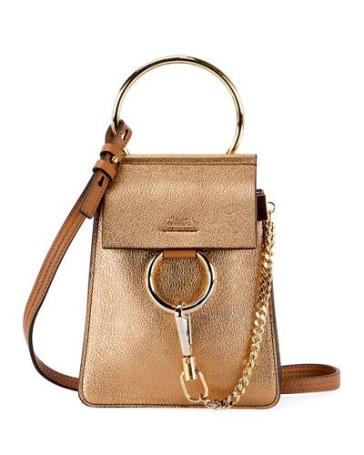 07b03b4b98dfd Quick Look. Chloe · Faye Mini Metallic Leather Bracelet Bag
