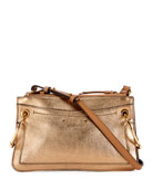 Chloe Roy Metallic Leather Crossbody Bag