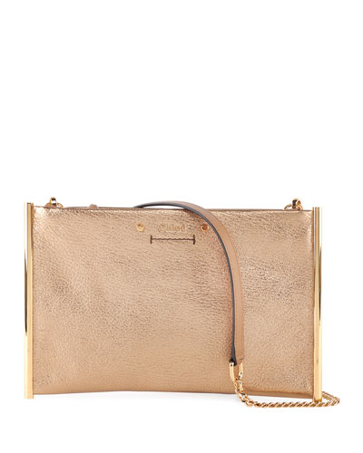 Quick Look. Chloe · Roy Metallic Leather Crossbody Bag 29fddf574783b