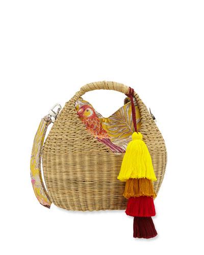 Heart Basket Crossbody Bag