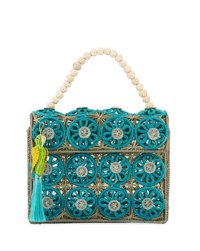 465a9c958852 Quick Look. Mercedes Salazar · Threaded Straw Top Handle Bag