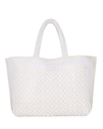 Nina Large Cotton Tote Bag