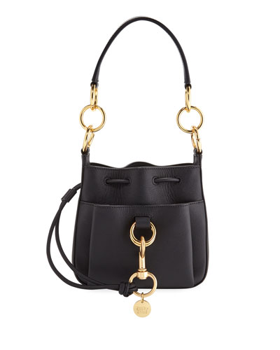 Tony Mini Leather Crossbody Bag