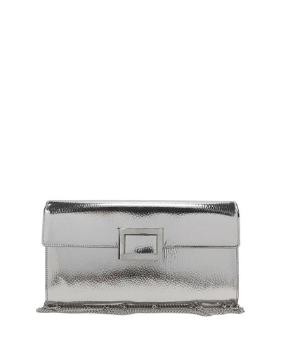 4e6250b3f11a Quick Look. Roger Vivier · Viv Mirrored Envelope Clutch Bag