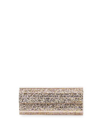 Sweetie Glittered Acrylic Clutch Bag