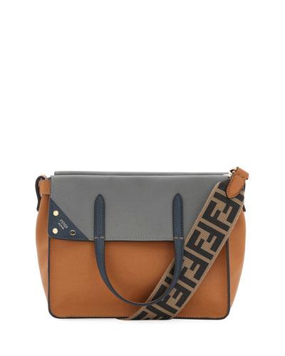 51c040e791f8 Quick Look. Fendi · Flip Small Grace Leather Tote Bag