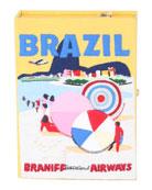 Olympia Le-Tan Brazil Box Crossbody Bag