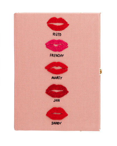 Grease Book Crossbody Clutch Bag