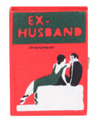 Olympia Le-Tan Ex Husband Small Book Clutch Bag