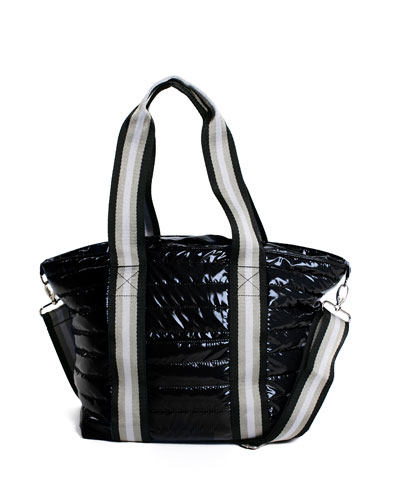 Junior Wingman Glossy Quilted Tote Bag