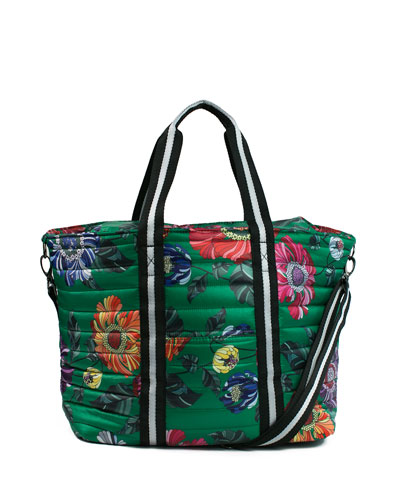 788c1cb6100 Quick Look. Think Royln · Junior Wingman Floral-Print Quilted Tote Bag