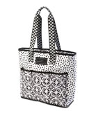 MacKenzie-Childs The Preps Dotty Cooler Tote Bag