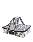 MacKenzie-Childs The Hot Date Dotty Dish Carrier