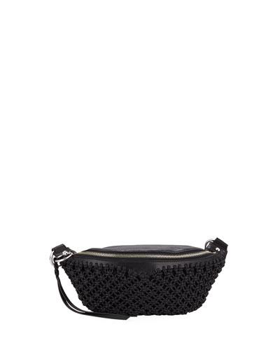 Bree Macrame Belt Bag
