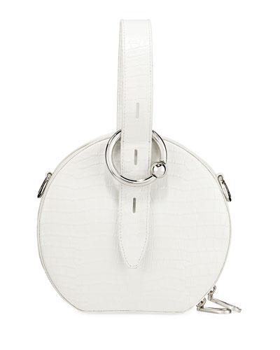 Kate Circle Top-Handle Bag