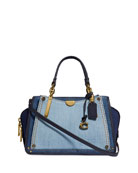 Coach 1941 Dreamer 21 Denim Satchel Bag