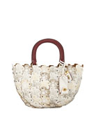 Coach 1941 Linked Tea Rose Basket Bag