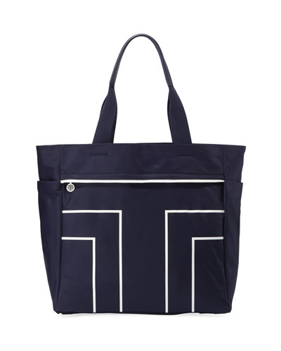 Sport T Large Nylon Tote Bag