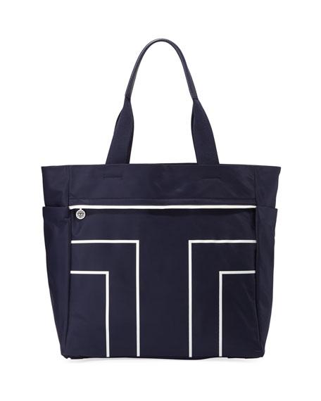 Tory Sport Sport T Large Nylon Tote Bag
