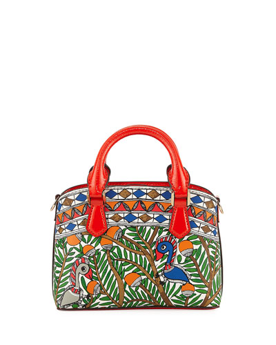Robinson Mini Printed Top-Handle Bag