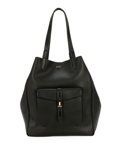 Quick Look. TOM FORD · Grain Leather East-West Tote Bag 1c82825dc82e