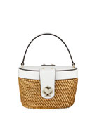 kate spade new york rose medium basket bucket