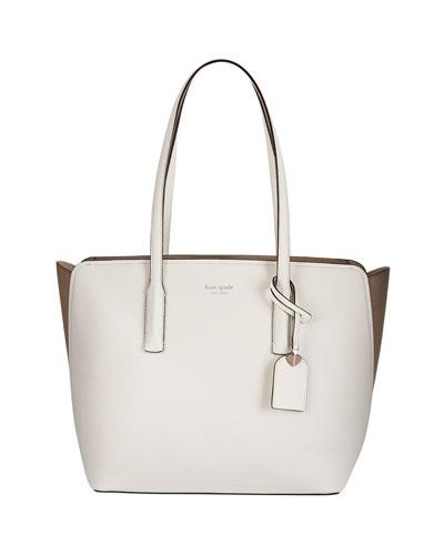 margaux medium leather tote bag
