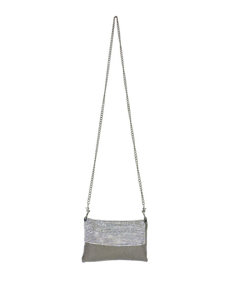 Whiting & Davis Saint Mesh Crossbody Bag